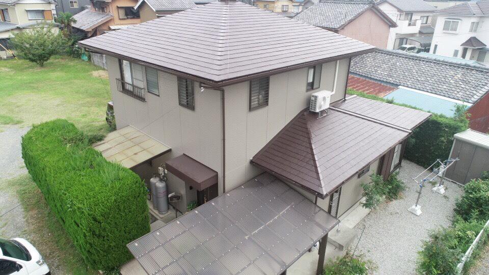 豊川市国府町での外壁・屋根塗装工事 H様邸