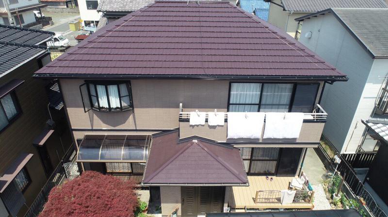 豊川市伊奈町での外壁・屋根塗装工事  M様邸