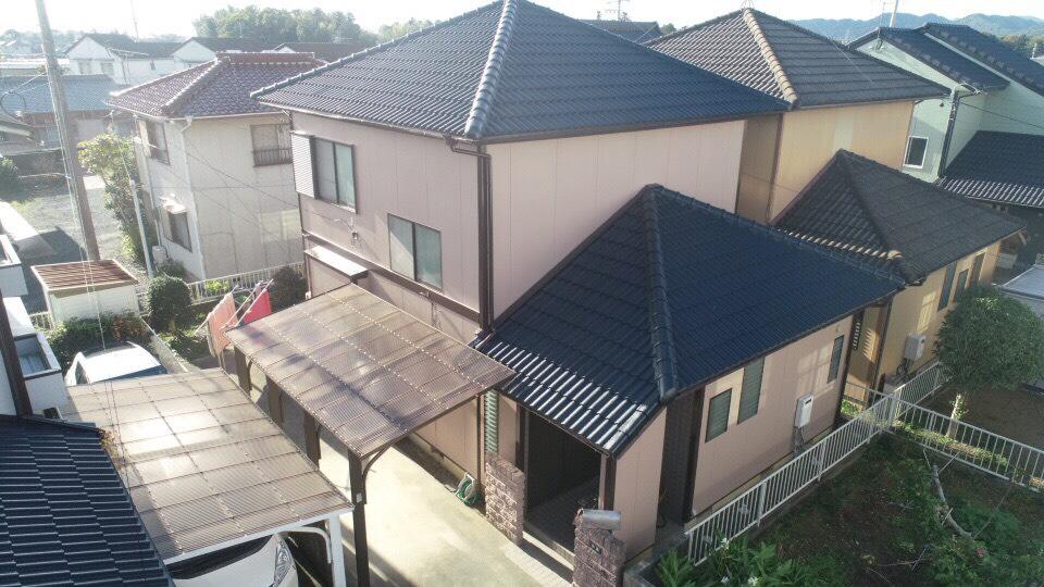 豊川市大木町での外壁・屋根塗装工事 I様邸
