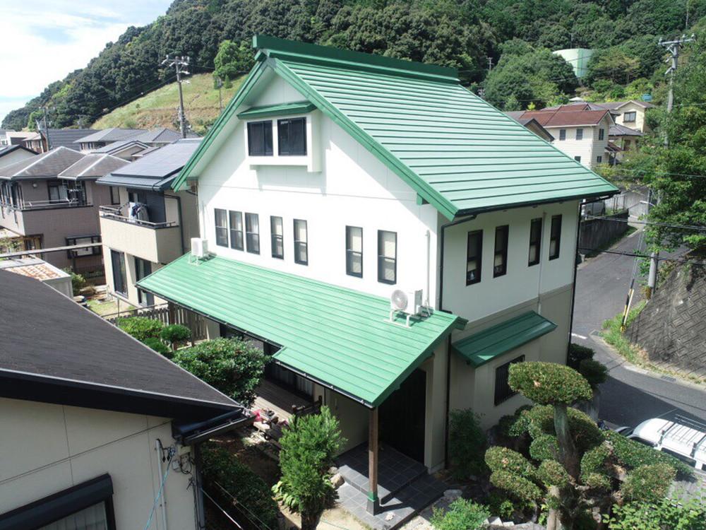 豊川市長沢町での外壁・屋根塗装工事  I様邸
