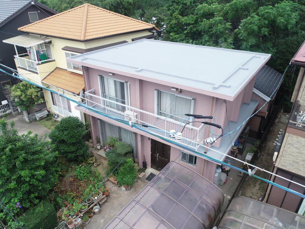 豊川市御油町での外壁塗装工事  H様邸