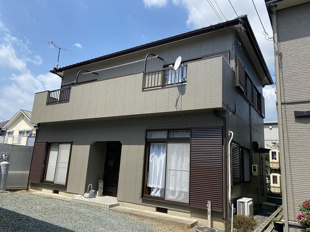 豊川市東名町での外壁塗装工事  Y様邸