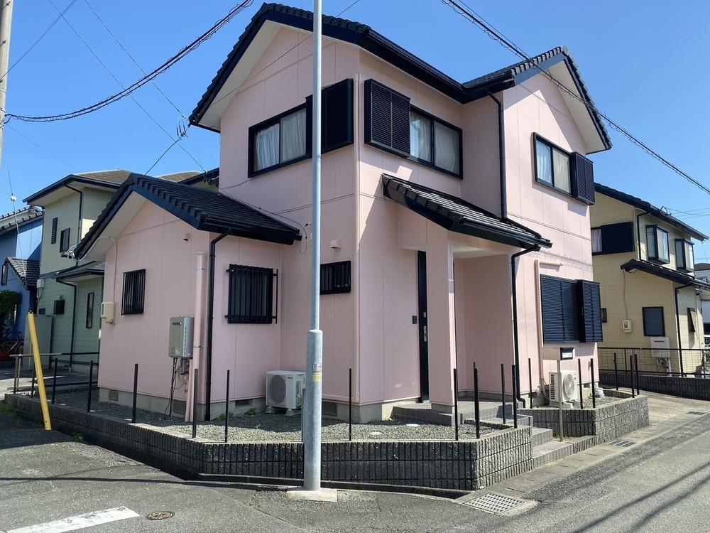 豊川市東幸町での外壁塗装工事 S様邸