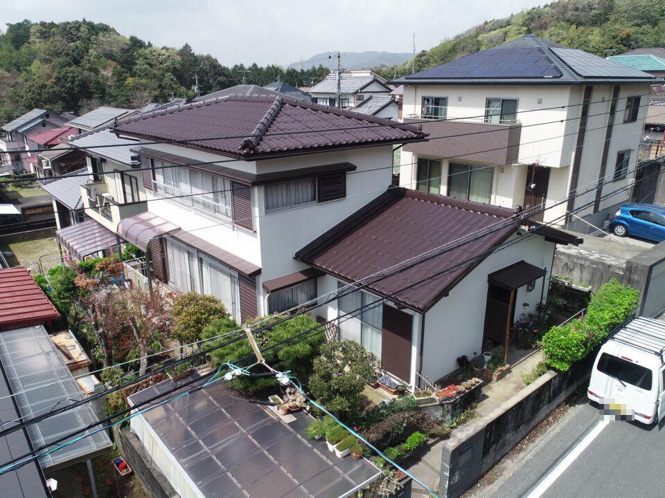 豊川市御油町での外壁・屋根塗装工事  K様邸