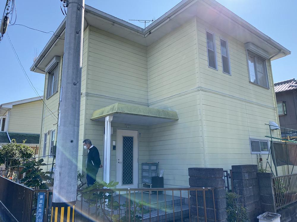 豊川市御油町 外壁無機塗装と痛んだスレート屋根をカバー工法で葺替えしました