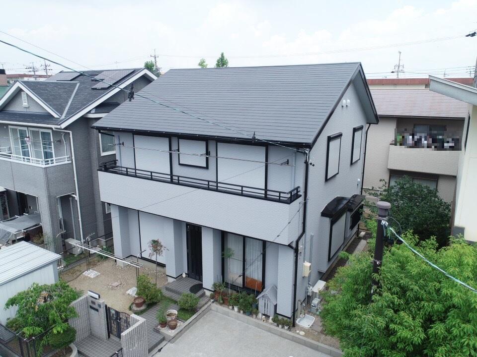 豊橋市北山町での外壁・屋根塗装工事  M様