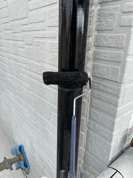 雨樋1回目塗装