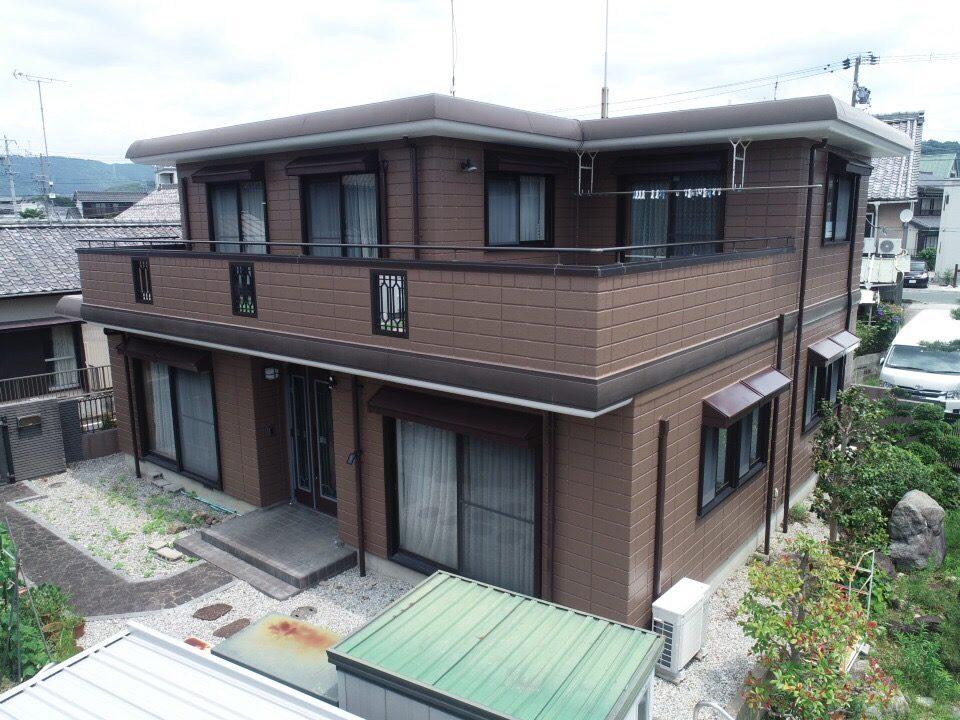 豊川市御油町 AGCの高級フッソでヘーベルハウスが蘇りました