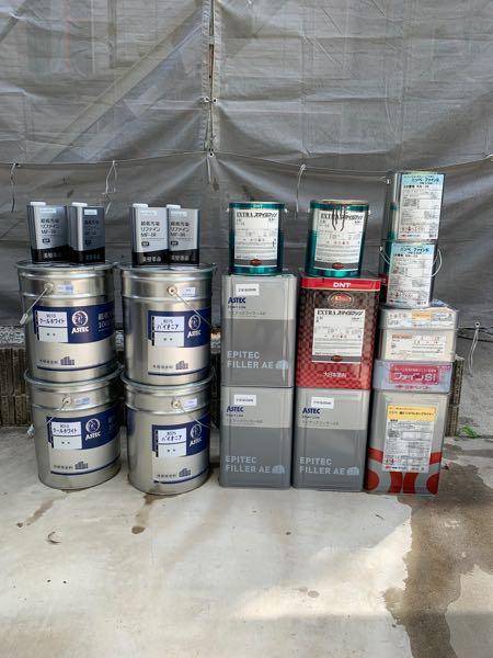 外壁下塗り:アステックペイント エピテックフイラーAE 外壁上塗り:アステックペイント リファイン1000MF-IR 付帯部:DNT EXスマイルフッソ 軒天:ニッペ ファインSI エンボス下処理:ニッペ 塩ビゾルウレタンプライマー