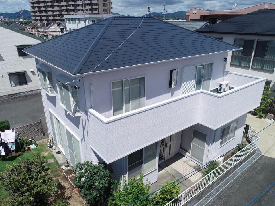 豊川市川花町 サイディング外壁のお家!やさしい色味に仕上がりました