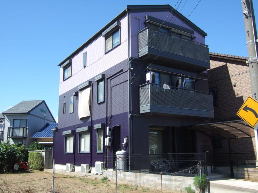 豊川市新宿町での屋根・外壁塗装工事 A様邸