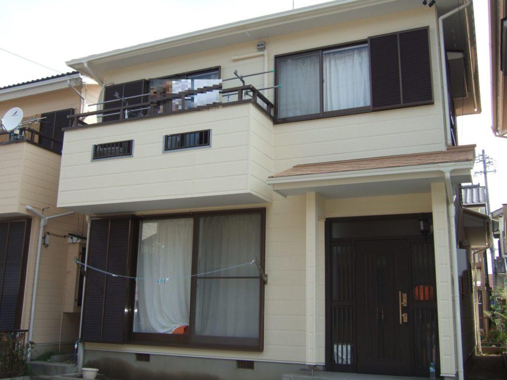 豊橋市下五井町での屋根・外壁塗装工事 M様邸