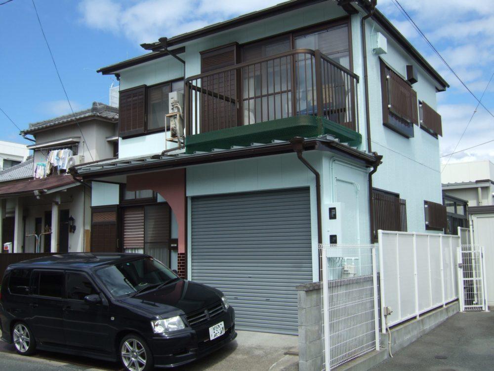 豊川市諏訪での屋根・外壁塗装工事 K様邸