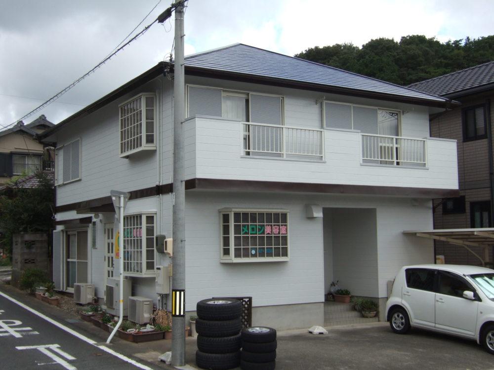 豊川市御油町での屋根・外壁塗装工事 I様邸