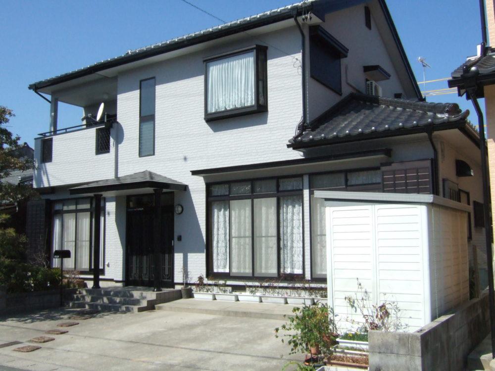 豊川市諏訪での外壁塗装工事 Y様邸