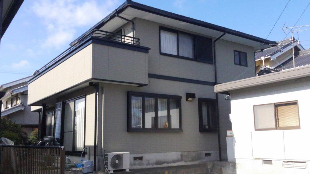豊川市桜町での外壁塗装工事 Y様邸