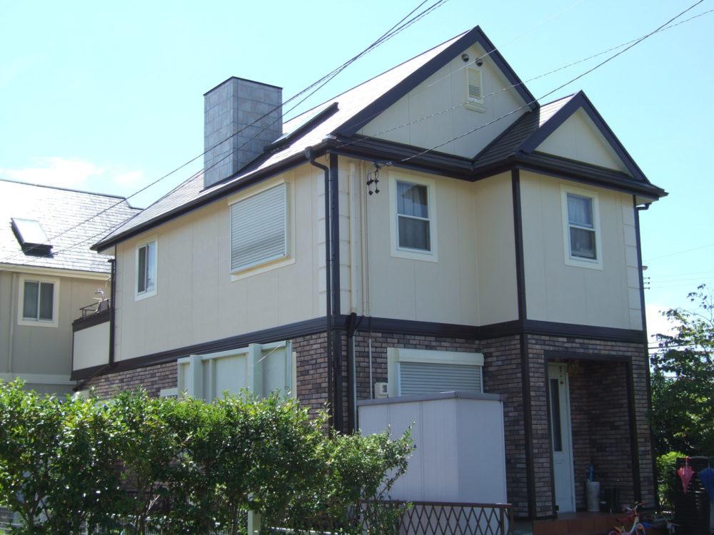 豊川市御油町Kさま屋根塗装後2