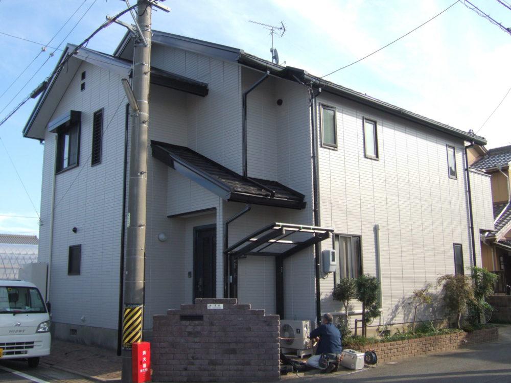 豊川市三蔵子町での外壁塗装工事 N様邸