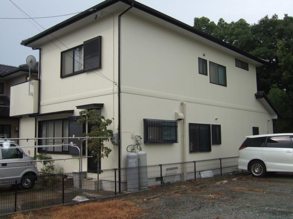 豊川市白鳥町での外壁塗装工事 I様邸