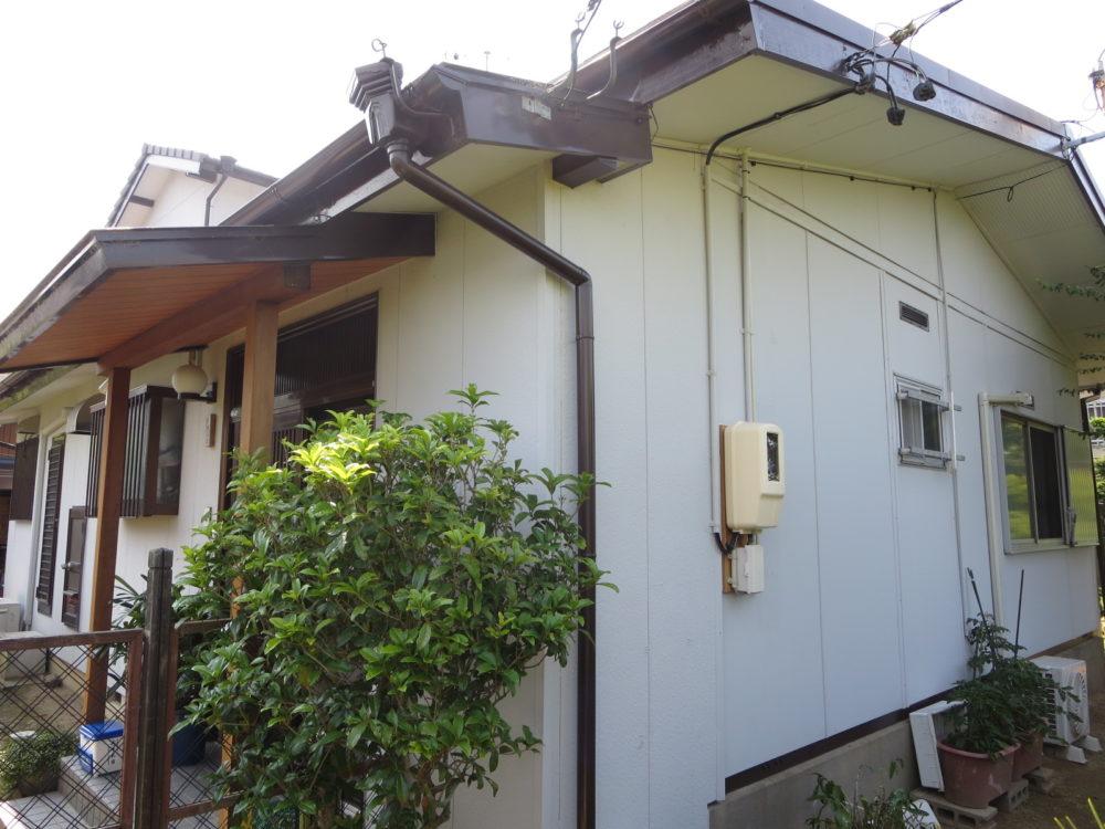 豊川市御油町での屋根・外壁塗装工事 T様邸